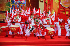 люди ансамбля танцульки согласия Стоковое Изображение RF