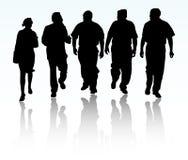 люди бизнес-группы иллюстрация вектора