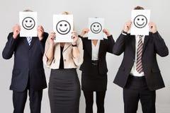 люди бизнес-группы unidentifiable Стоковые Фотографии RF