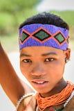 Люди бушмена в Намибии Стоковое фото RF