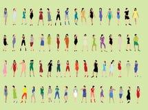 Люди вектора. стоковая фотография