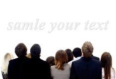 люди взгляда группы Стоковое Фото