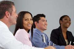 люди встречи бизнес-группы стоковое изображение