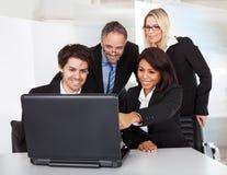 люди встречи бизнес-группы Стоковая Фотография RF
