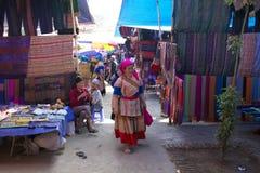 люди Вьетнам несовершеннолетия hmong цветка Стоковые Фотографии RF