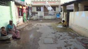 Люди в индийской деревне акции видеоматериалы