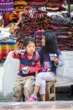 Люди в эквадоре Стоковые Изображения