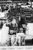 Люди в эквадоре Стоковая Фотография