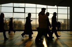 люди города Стоковое фото RF