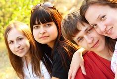 люди группы молодые Стоковое Изображение RF