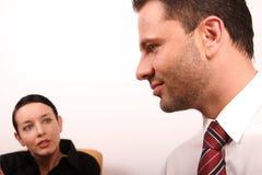 люди деловой беседы Стоковая Фотография RF