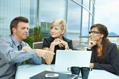 люди деловой встречи напольные Стоковая Фотография RF
