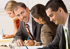 люди деловой встречи стоковое фото rf