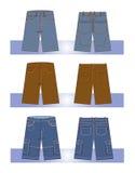 люди джинсыов Стоковое Изображение