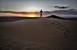 люди дюны сверх Стоковая Фотография RF