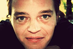 Люди зеленых глаз Стоковые Изображения RF