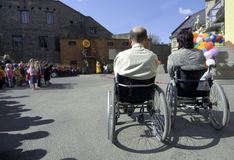 люди инвалидности Стоковые Изображения RF