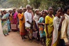 люди Индии соплеменные Стоковое фото RF