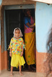 люди Индии соплеменные Стоковые Изображения RF