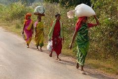 люди Индии соплеменные Стоковое Фото