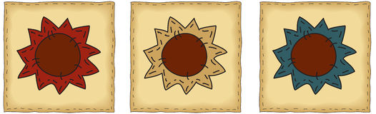 люди искусства латают солнцецвет Стоковые Фотографии RF