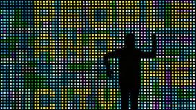 Люди и стена Стоковое Изображение RF