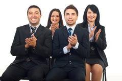 люди конференции дела clapping стоковая фотография