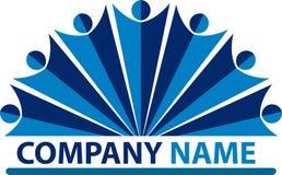 люди логоса компании Стоковое Изображение RF