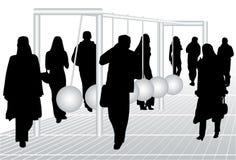 люди маятника Стоковая Фотография RF