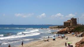 Люди моря пляжа акции видеоматериалы