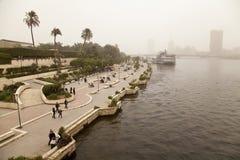 Люди наслаждаясь парком Стоковое Фото