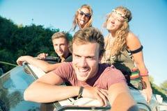 Люди на каникулах Стоковая Фотография RF