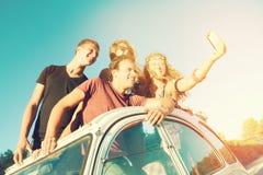 Люди на каникулах Стоковое Изображение