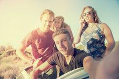 Люди на каникулах Стоковое Изображение RF