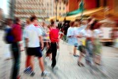 люди нерезкости Стоковая Фотография RF