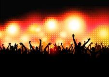 люди партии толпы Стоковые Изображения RF