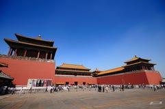 люди Пекин tian стоковые фотографии rf