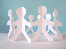 люди принципиальной схемы общины Стоковое Изображение