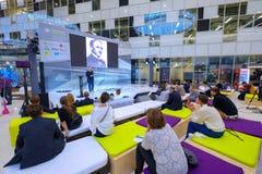 Люди присутствуют на открытом форуме 2017 нововведений Стоковые Фотографии RF