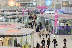 Люди присутствуют на открытом форуме 2017 нововведений Стоковое Изображение RF