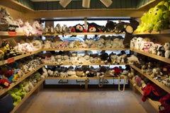 Люди путешественников куклы животных Handmade ткани красочные для продажи Стоковая Фотография