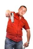 люди пушки стоковое изображение