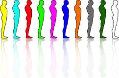 люди разнообразности иллюстрация вектора