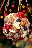 люди рождества bauble Стоковое Изображение RF
