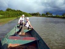 люди рыболовства Стоковое Изображение RF