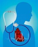 Люди сердца медицины Стоковое Фото