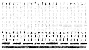 люди сотни Стоковое Изображение RF