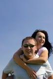 люди счастья Стоковая Фотография