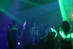 Люди танцев стоковые изображения rf