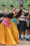 люди танцульки тайские Стоковая Фотография